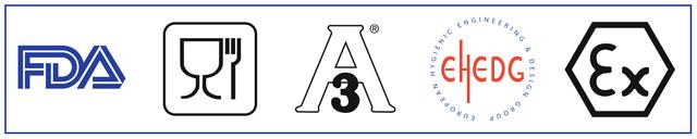 моющие головки Lechler имеют сертификаты FDA и ATEX